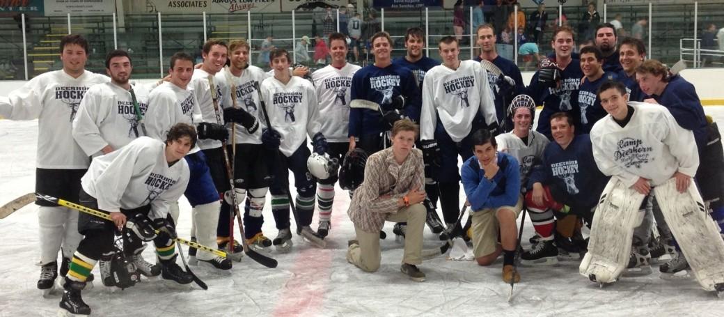 staff hockey game